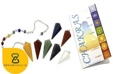 como equilibrar los chakras con pendulo