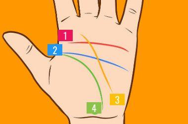 como leer las linias de la mano