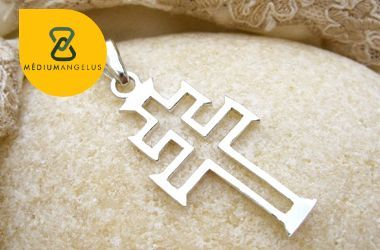 cruz de caravaca plata