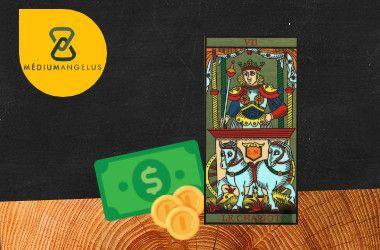 el carro tarot significado en el dinero