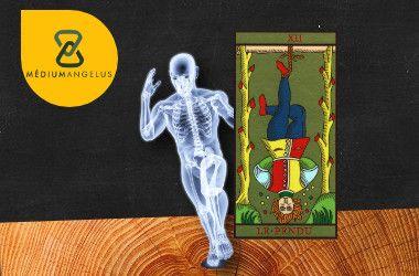 el colgado tarot significado en la salud