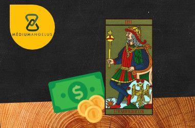 el emperador tarot significado en el dinero