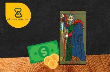 el ermitano tarot significado en el dinero