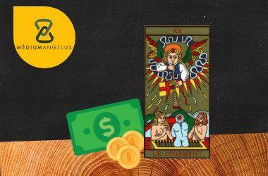 el juicio tarot significado en el dinero
