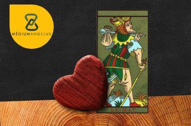 el loco tarot significado en el amor