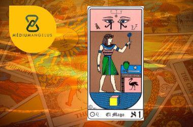 el mago tarot egipcio