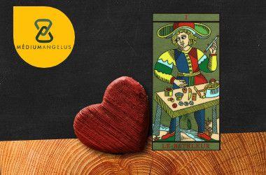 el mago tarot significado en el amor