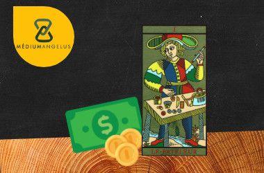 el mago tarot significado en el dinero