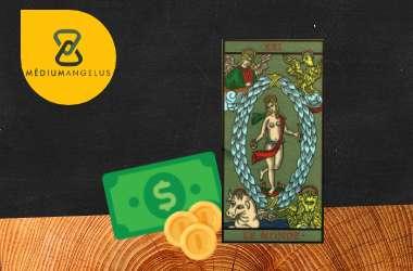 el mundo tarot significado en el dinero
