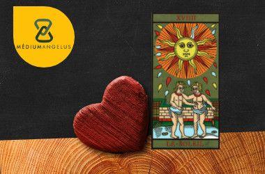 el sol tarot significado en el amor