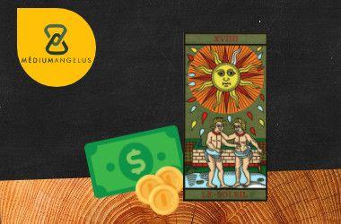 el sol tarot significado en el dinero