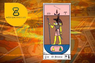 el sumo sacerdote tarot egipcio