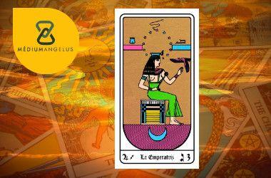 la emperatriz tarot egipcio