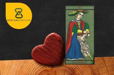 la fuerza tarot significado en el amor