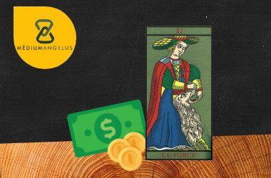 la fuerza tarot significado en el dinero
