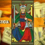 la justicia en el tarot
