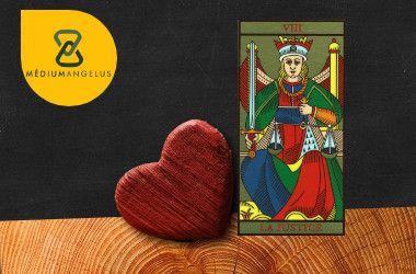 la justicia tarot significado en el amor