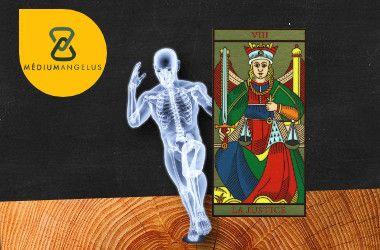 la justicia tarot significado en la salud