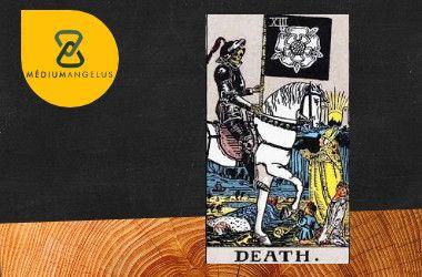 la muerte tarot rider waite