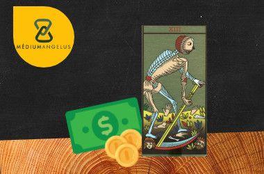 la muerte tarot significado en el dinero