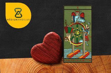 la rueda tarot significado en el amor