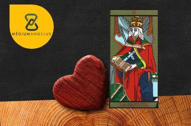 la sacerdotisa tarot significado en el amor