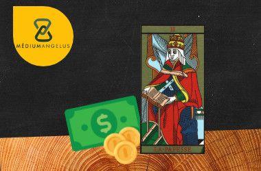 la sacerdotisa tarot significado en el dinero