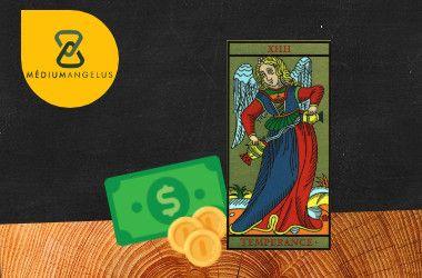 la templanza tarot significado en el dinero