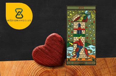 la torre tarot significado en el amor