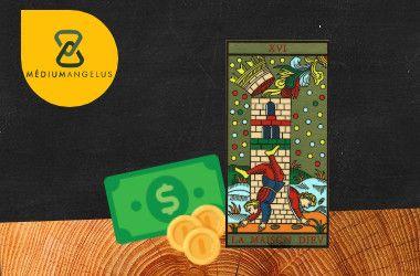 la torre tarot significado en el dinero