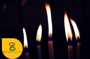 lenguaje de las velas al quemarse