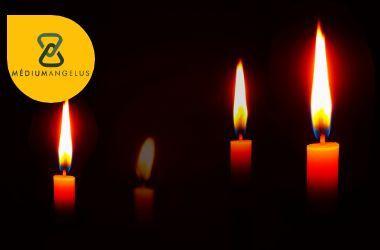 lenguaje de las velas llama