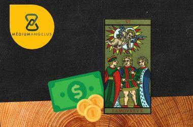 los enamorados tarot significado en el dinero