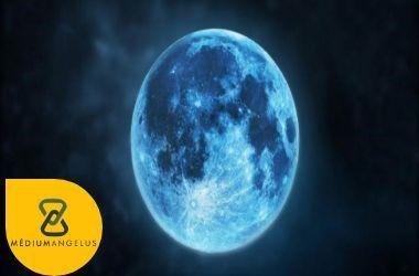magia de la luna azul