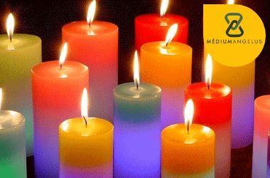 rituales con velas de colores