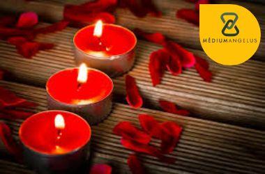 rituales con velas rojas