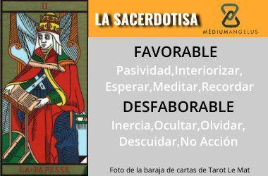 significado de la sacerdotisa en el tarot