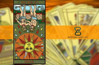 significado del sol tarot invertida