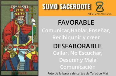 Significado del sumo sacerdote en el tarot