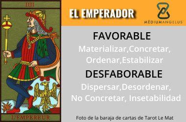 significado el emperador en el tarot