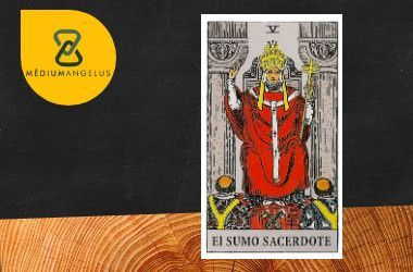 sumo sacredote hierofante tarot rider waite